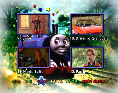 Magic Track Friends 17010073 Limited image thomasandthemagicrailroadukdvdmenu4 png