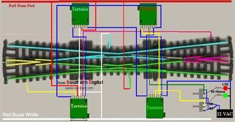 single crossover wiring diagram tortoise switch machine