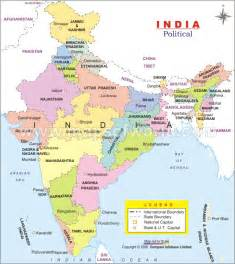 Political Map Of India by Prabhanshu Pal India