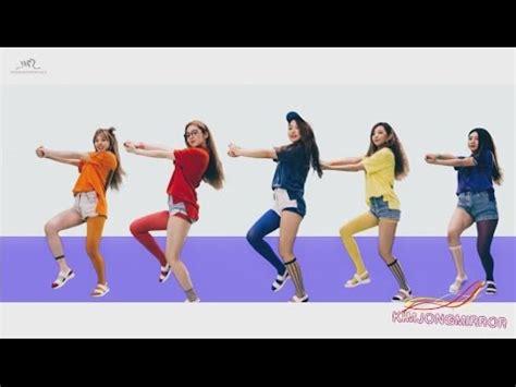 tutorial dance red velvet dumb dumb red velvet dumb dumb dance compilation mirrored youtube