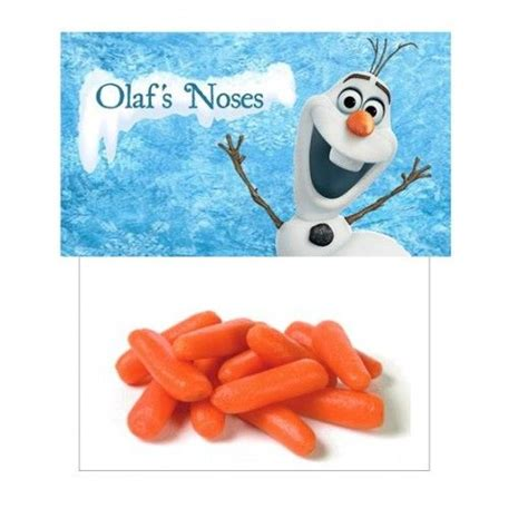 frozen printable olaf noses frozen party favors olaf noses bag frozen party