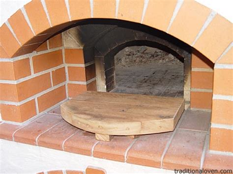 temperature in brick wood pizza oven hot wood burning