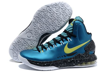 kevin basketball shoes nike kd v kevin durant basketball shoes lake blue black