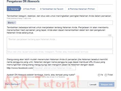 membuat fanspage facebook gratis membuat fanspage facebook dengan mudah asr tutorial
