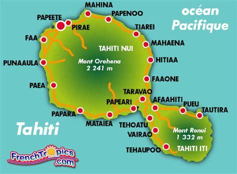 Infos sur : carte tahiti Arts et Voyages