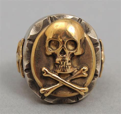 light trading skull ring accessories