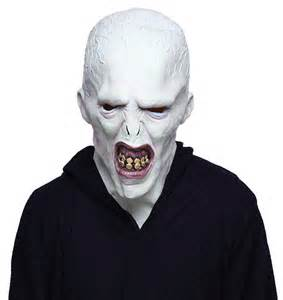 harry potter voldemort mask thinkgeek