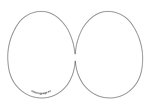 egg templates for cards easter egg card template easter eggs