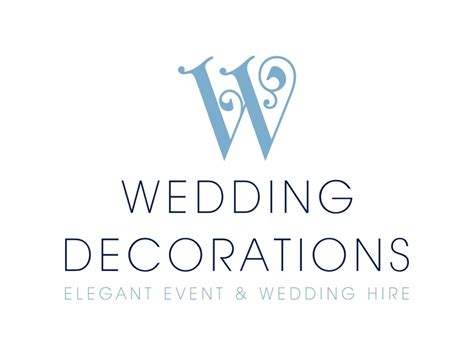logo design for wedding decorations logobrands by clinton smith design consultants