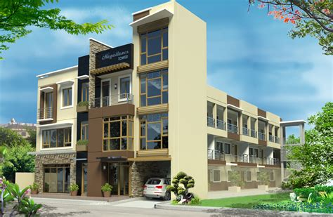 Apartment Design Exterior Home Design By Greyy Reyes Category Apartments Type Exterior