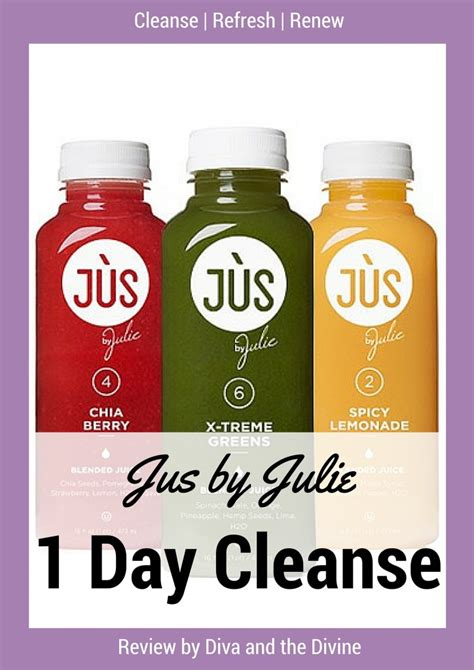One Day Detox Cleanse by Jus By Julie 1 Day Cleanse And The