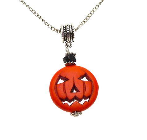 pumpkin necklace pendant gemstone o