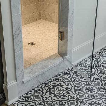 mosaic bathroom floor tile ideas white and black mediterranean bathroom ideas