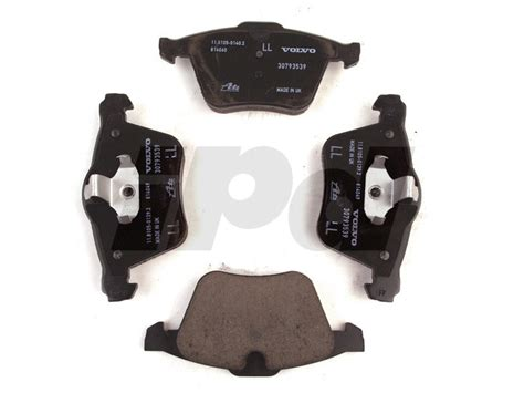 volvo front brake pad set p  mm  mm rotors