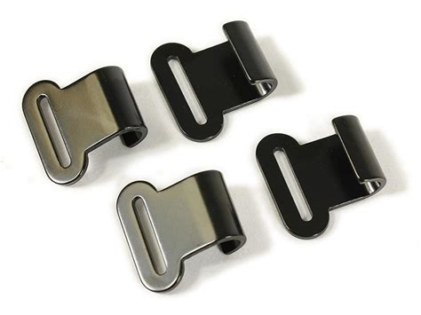 gutter hooks 4pack from wolfman motorcycle luggage