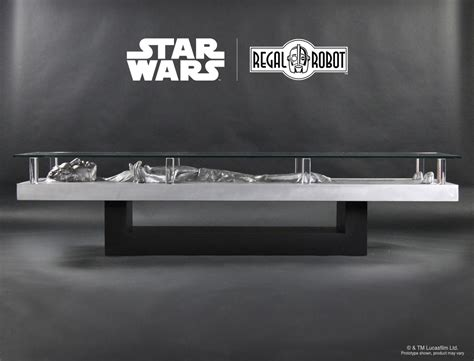 carbonite coffee table han solo carbonite coffee table regal robot