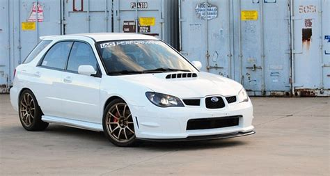 hawkeye subaru hatchback 2002 wrx wagon with 06 07 front end swap and full sedan