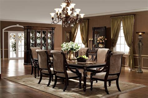 elegant formal dining room furniturecream colored formal simple glass top dining table with four black wooden legs