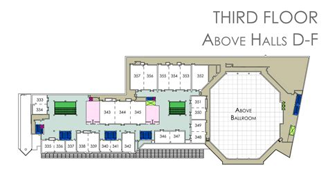 center floor plan floor plans ernest n morial convention center