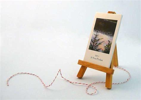 wooden art desk 2011 art desk calendar with wooden easel gadgetsin