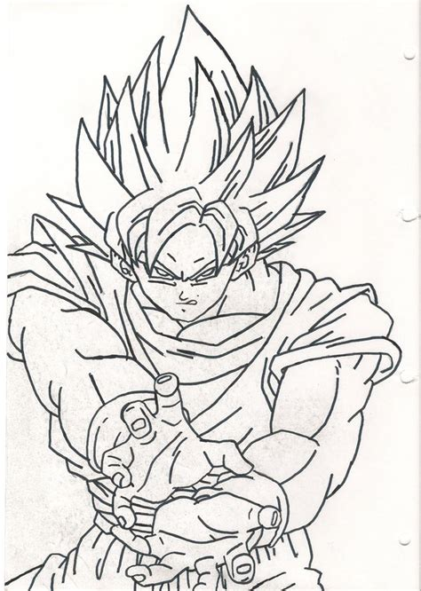 goku kamehameha coloring pages sketches of goku ssj1 kamehameha coloring pages