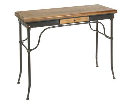 escritorio hierro y madera escritorio industrial cl 225 sico de hierro y madera de abeto