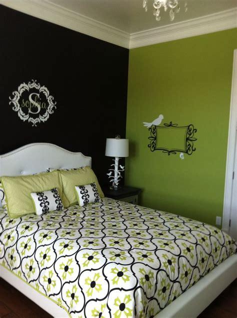 lime green black images  pinterest lime limes  bedrooms