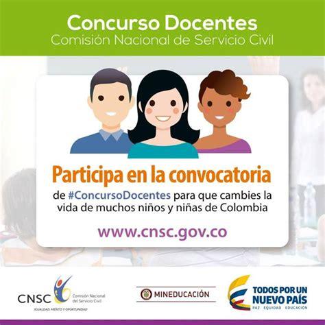 servicio civil convocatorias ministerio de educaci 243 n y comisi 243 n nacional del servicio