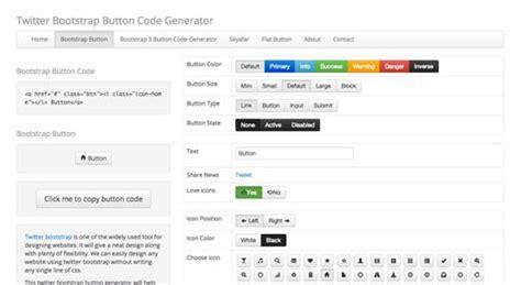 bootstrap button color generador de botones para bootstrap