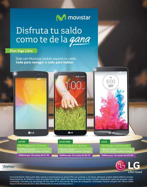 mensaje a celulares de el salvador promociones celulares lg movistar el salvador 29jun15