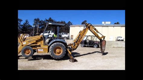 L For Sale by 1998 580 L Series 2 Backhoe For Sale Sold At