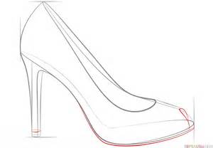 how to draw heels how draw high heels apps directories