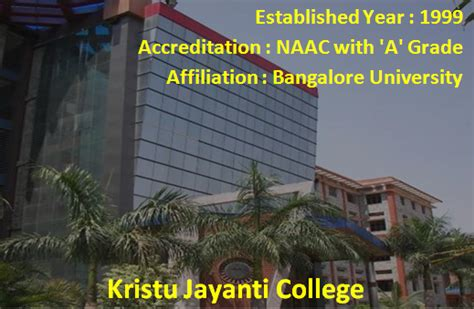 Kristu Jayanti College Mba Syllabus by Top B Schools In Bangalore List Top Mba Colleegs