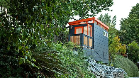 Modern Prefab Cabin home office inspired limited living space solutions modern