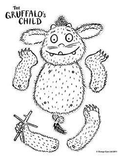 libro petit gruffalo kidtoons coloring sheet for the gruffalo s child dibujos colegios aula y lectura