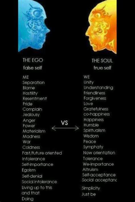 Self Ego false self vs true self god perfection