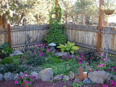 small shade garden design ideas with rock edging for plans
