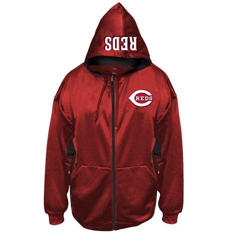 Jaket Hoodie Big Reds mlb s big hoodie jacket cincinnati reds