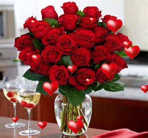 imagenes en movimiento de rosas y corazones gif animados de rosas rojas y corazones