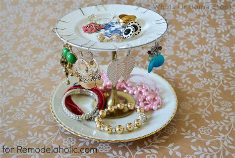 remodelaholic  easy diy jewelry organizer ideas