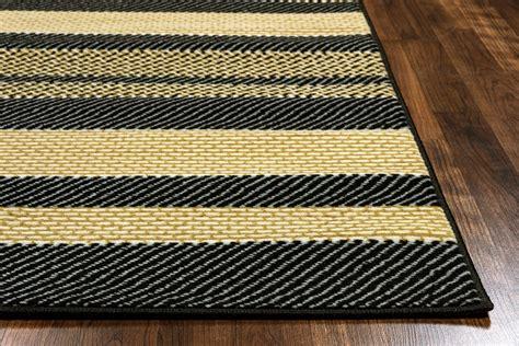 10 X 10 Black Area Rug - millington asymmetric stripe pattern area rug in black