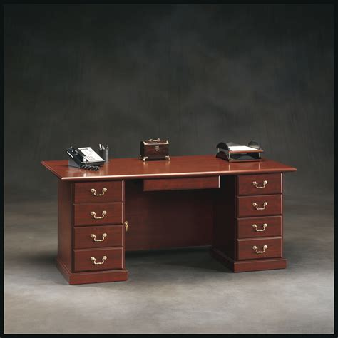 sauder executive desk sauder heritage hill executive desk