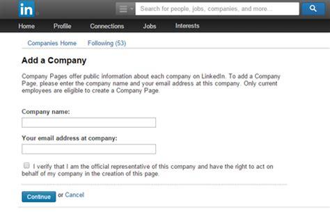 create company logo on linkedin how to create a linkedin company page to promote your