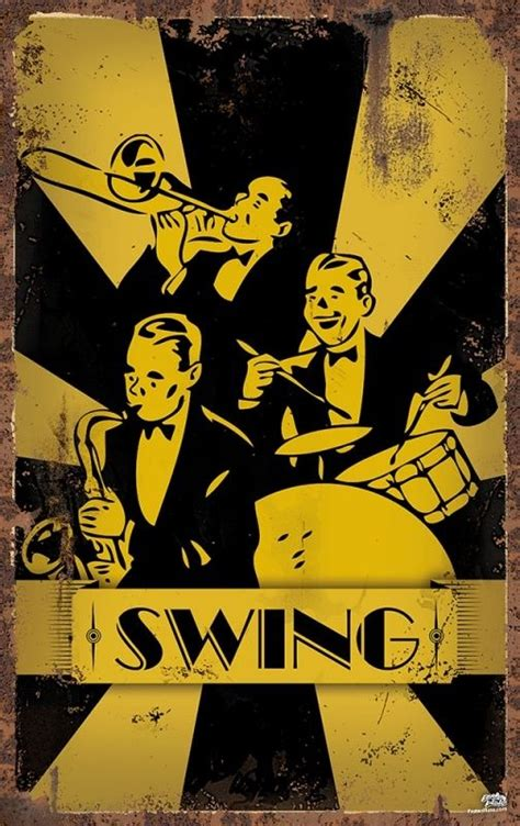 Swing Jazz 37 Best The Of Swinging Vintage Clip Line