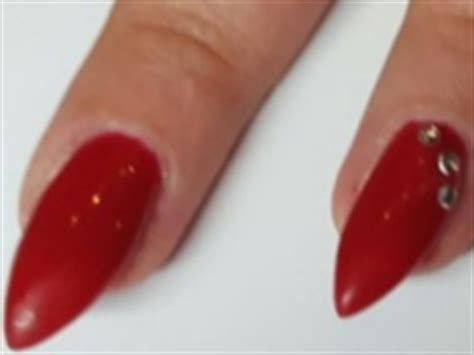 Gelnagels Met Steentjes by La Fleur Nails Nagelsalon En Nagelstudio Etten