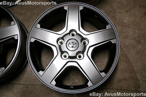 Toyota Tundra 20 Inch Trd Wheels 2013 Toyota Tundra Trd 20 Quot Oem Option Wheels Sequoia Land