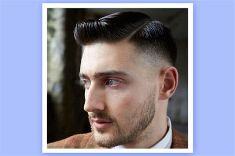 hairstyles for men with square jaws men s hairstyle for every face shape bebeautiful