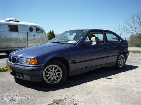 sell used 1995 bmw 318ti base hatchback 2 door 1 8l e36 in