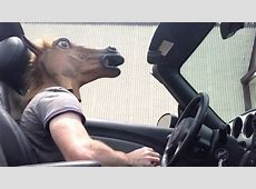 Arby's Horse Mask Drive Thru! - YouTube Arby S