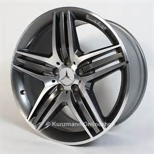 Mercedes 19 Inch Amg Wheels Amg Alufelgen Triplespeichen Design Mercedes E